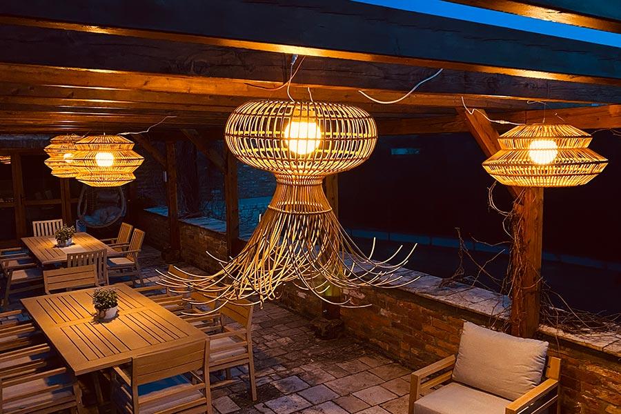 Vanjska svjetiljka, Globero vrtna lampa